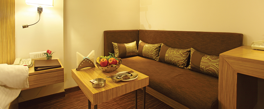 Executive room in Hotel ComfortINN - Rajkot